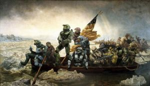 Crossing the Delaware by karbonkirby