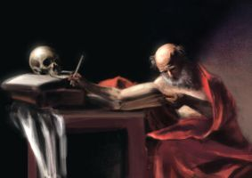 Caravaggio Study by wasted-rebel