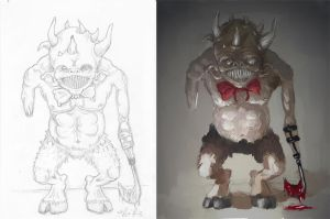 Sketch vs Render by ales-kotnik