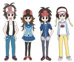 Genderflip Pokemon Trainers BW/BW2 by Cleanne-chan