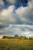 Ridgetop Barn by tfavretto