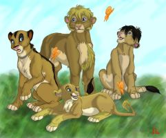 Pevensie Party by Frodo-Lion