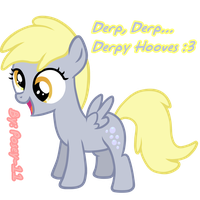 Derpy Filly by Posey-11