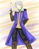 Amazing Percy the Human Gunslinger Fanart 2015 by MeghansDreamDesigns