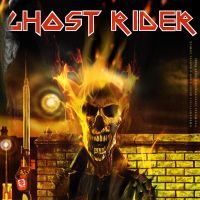 COVERIRONMAIDENGhostRider by uwedewitt
