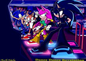 Dance Dance Revolution :Gift: by Mery-the-Hedgehog