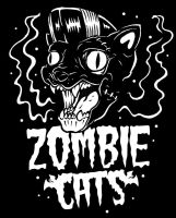 Zombie cats by HorrorRudey