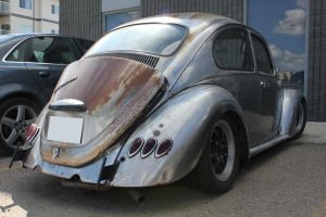 Ratified Beetle (Rear) by KyleAndTheClassics