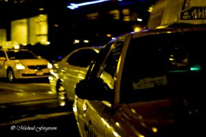 Hit Me Yellow Taxi by Geeksis