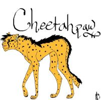 Cheetahpaw my new charrie by Lightleopard