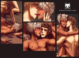 Yaoi Commission Spicy: Asher x Dia by Yaoi-World