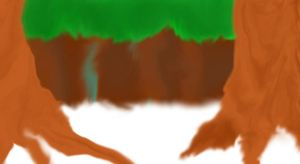 Snowy Forest Background Base by cheshire-cat-tamer