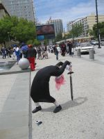 epic Chrona cosplay at Fanime by pinkirlia