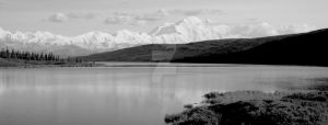 Wonder Lake, Denali N.P by iamintheprocess