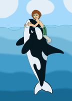 The Boy and the Orca by MCsaurus