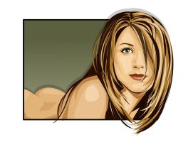 Jennifer Aniston by LessThanXero