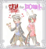 I Scream For Icecream-Cover by BrokenDeathAngel