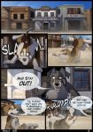 UnA Issue #1 - Page 01 by Skailla