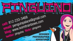 Business Card Concept 4 by pinguino
