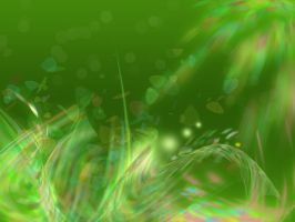 abstract grass by vdore