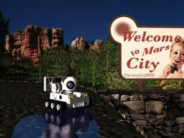 Welcome To Mars City by Darwey