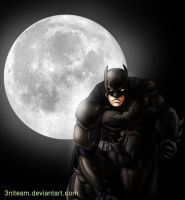 batman dark knight by 3niteam