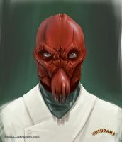 Futurama - Doctor Zoidberg by Aioras
