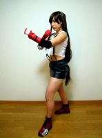 Tifa Battle Pose by frankiki