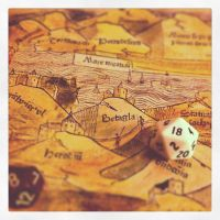 Map and Dice by billiambabble