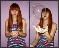 Bubble collage by tere-fere-qq