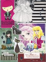 Visual Kei Sketchbook Collage by erondagirl