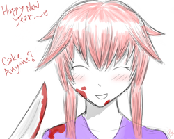 New Year's with Yuno-chan~ by Tragic-R0mantic