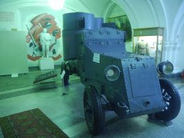 Possaibly Lenin's Armoured Car by Party9999999