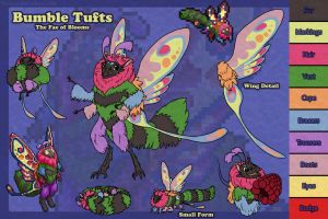 Bumble Tuft: Ref by Naeomi
