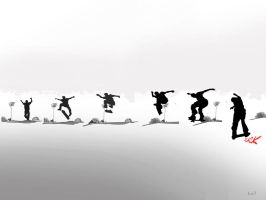 skate sequence wallpaper by kal0r