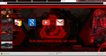 Brotherhood of Nod Google Chrome Skin by StealthLazarusOfNod