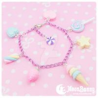 Candy mix Bracelet 5 by CuteMoonbunny