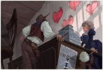 Heart's shop by Waldemar-Kazak