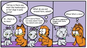 Opal's life 20 (with Garfield) by Helsaabi