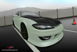 Nissan Silvia S15   Toon by mustaF4ST
