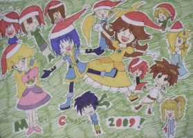 Merry Christmas 2009 by FinLin