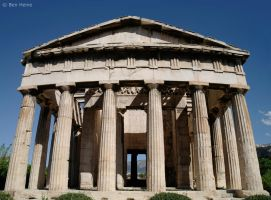Hephaisteion - Athens - Greece by BenHeine