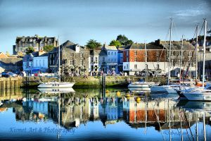 Padstow Harbour by Deb-e-ann