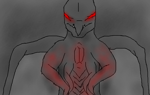 The Mothman, Muto style by TheSpiderAdventurer