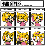 Hair Meme: Rose the hedgehog by xXrosethehedgehogXx