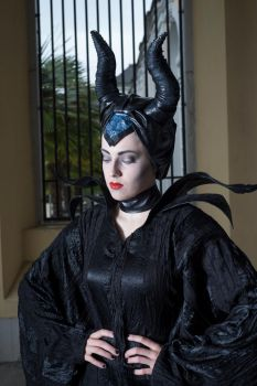 Maleficent1 by Valerie-Mrosek-Stock
