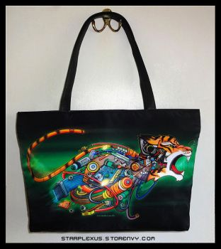 Growling Machine Handbag by starplexus