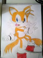 Miles Tails Prower by skrallhunter