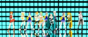 [MMD] Miku Hatsune-PSY Gentleman [Original/DL] HD! by Magic-yumi