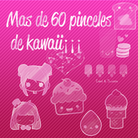Pinceles kawaii by Blanquiitta